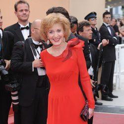 Marisa Paredes en la ceremonia de clausura de Cannes