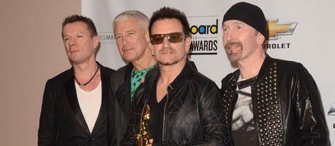 La Banda U2 en los Premios Billboard 2011