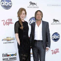 Nicole Kidman y Keith Urban en los Premios Billboard 2011
