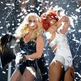 Britney Spears y Rihanna en los Premios Billboard 2011