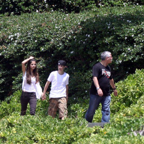 Justin Bieber y Selena Gomez enamorados en Hawai