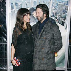 David Schwimmer y su esposa Zoe Buckman