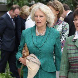 Camilla Parker, Duquesa de Cornualles, en la Chelsea Flower Show