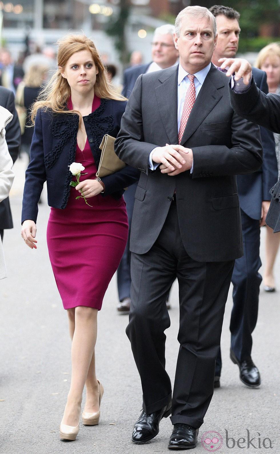 El Duque de York y la Princesa Beatriz