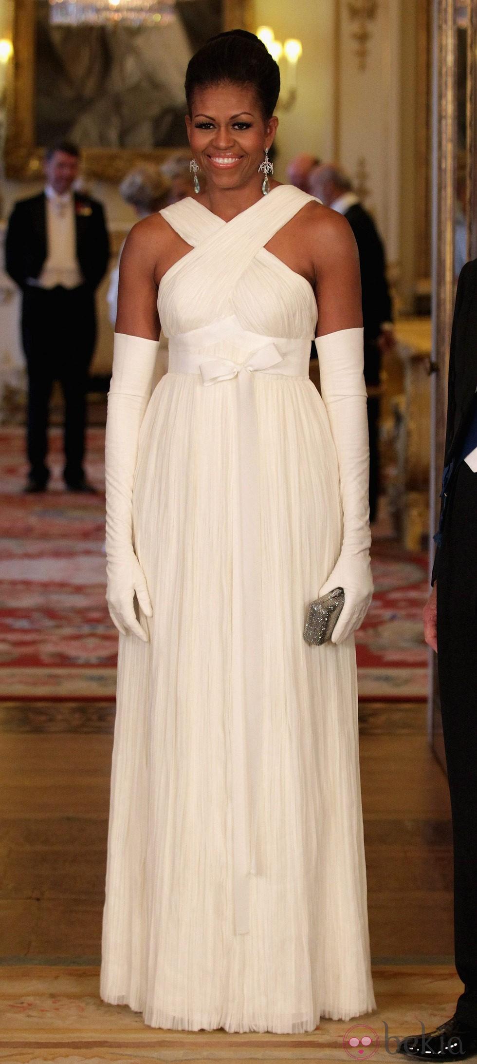 Michelle Obama en Buckingham Palace
