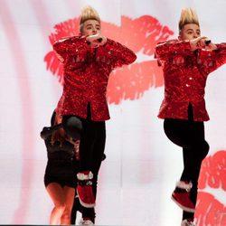 Los gemelos irlandeses John & Edward en Eurovisión 2011
