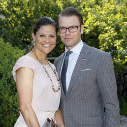 Victoria de Suecia y Daniel Westling en Munich