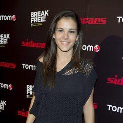 Sandra Blázquez en el concierto de Sidecars