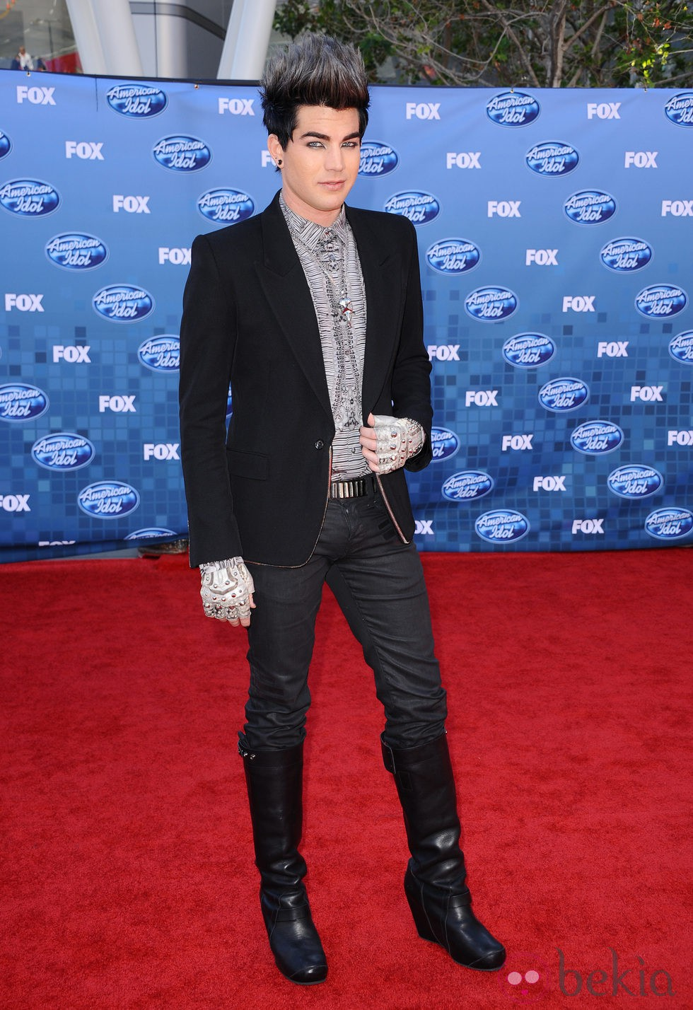 Adam Lambert en la final de 'American Idol'
