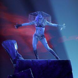 Lady Gaga en la final de 'American Idol'