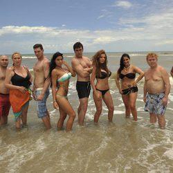 Los famosos de 'Supervivientes 2011' en bañador