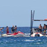 Justin Bieber y Selena Gomez disfrutan del mar de Hawai