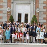 Foto de familia de la primera comunión de Miguel Urdangarín