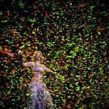 Shakira en el concierto de Barcelona