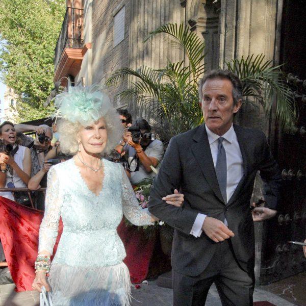 Boda de Carmen Solís Tello y Agustín Aranda en Sevilla