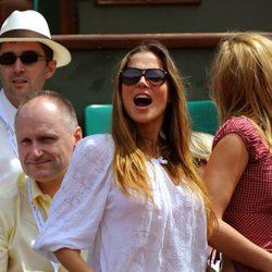 Elsa Pataky en Roland Garros