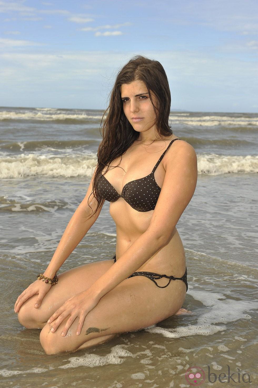 La anónima Carolina Córdoba de 'Supervivientes 2011'