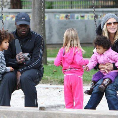 Heidi Klum, Seal y sus hijos