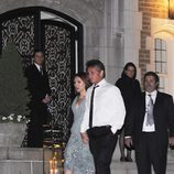 Scarlett Johansson y Sean Penn en Washington