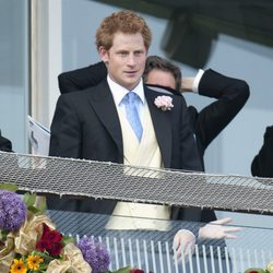 El Príncipe Enrique en el Derby de Epsom