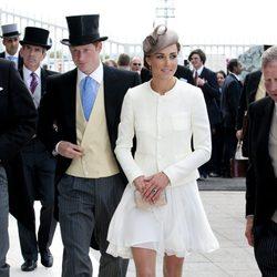 La Duquesa Catalina y el Príncipe Enrique de Gales