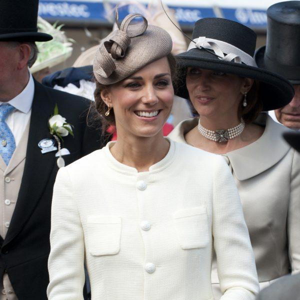 La Familia Real Británica en el Derby de Epsom