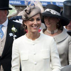 La Duquesa Catalina de Cambridge en el Derby de Epsom