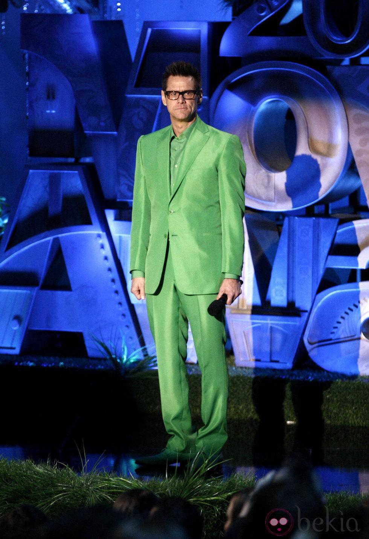 JIm Carrey en los MTV Movie Awards 2011