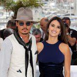 Johnny Depp y Penélope Cruz en Cannes