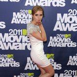 Emma Watson en la alfombra roja de los MTV Movie Awards 2011