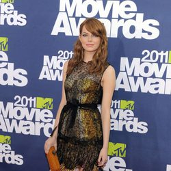 Emma Stone en los MTV Movie Awards 2011