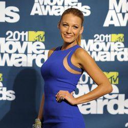 Blake Lively en la alfombra roja de los MTV Movie Awards 2011