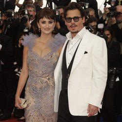 Penélope Cruz y Johnny Depp juntos en Cannes