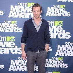 Ryan Reynolds en la alfombra roja de los MTV Movie Awards 2011