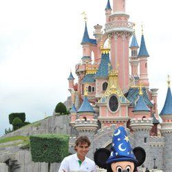 Rafa Nadal y Mickey en Disneyland Paris