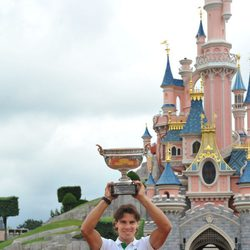 Rafa Nadal en Disneyland París