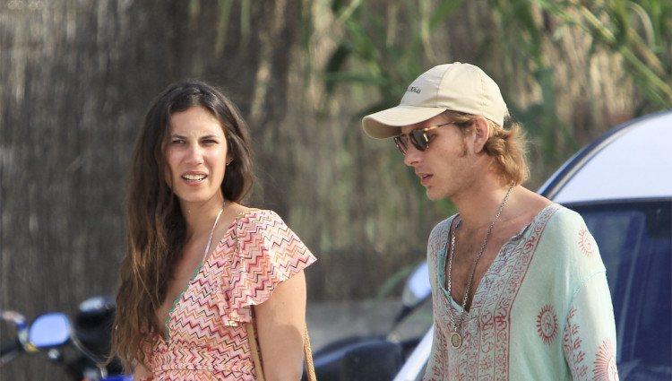 Andrea Casiraghi y Tatiana Santo Domingo en Ibiza