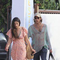 Tatiana Santo Domingo y Andrea Casiraghi de vacaciones en Ibiza