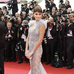 Penélope Cruz luce un vestido de Marchesa en Cannes