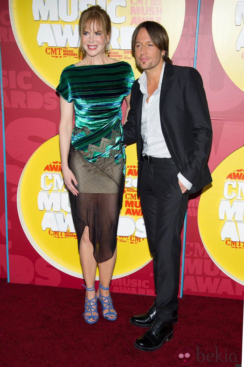 Nicole Kidman y Keith Urban en los CMT Music Awards 2011