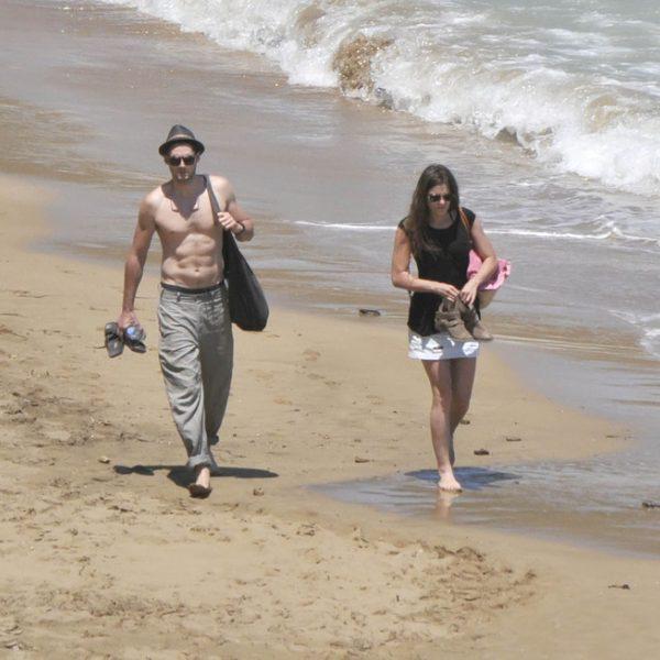 Olivia Molina y Sergio Mur en Ibiza