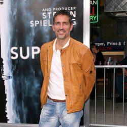 Jim Caviezel en el estreno de 'Super 8'