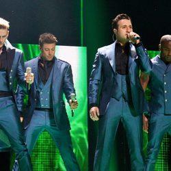 Blue, representantes del Reino Unido en Eurovisión 2011