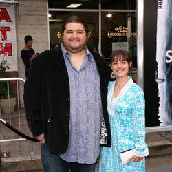 Jorge Garcia en el estreno de 'Super 8'