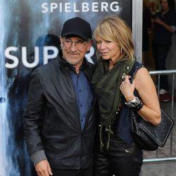 Steven Spielberg en el estreno de 'Super 8'