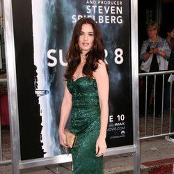 Paz Vega en el estreno de 'Super 8'