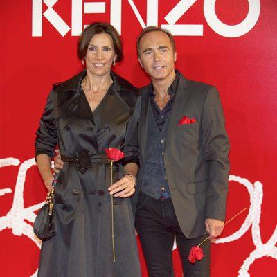 Pastora Vega y Juan Ribó en la Fiesta Kenzo 2011
