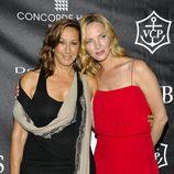 Donna Karan y Uma Thurman en los Stephan Weiss Apple Awards