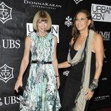 Anna Wintour y Donna Karan en los Stephan Weiss Apple Awards