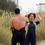 Blanca Suárez y Miguel Ángel Silvestre se quitan el neopreno